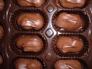Chocolate-covered macadamia nuts