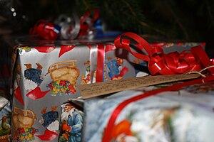 English: A Swedish Chrismas gift.