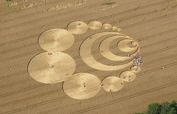 English: Crop circle in Switzerland