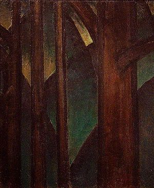 Dove Arthur Dark Abstraction 1917
