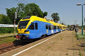 Stadler FLIRT in Częstochowa Stradom station