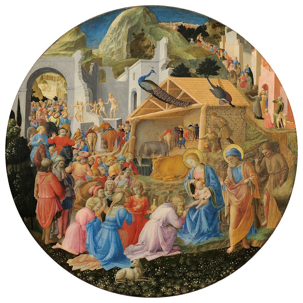 FileFra Angelico Fra Filippo Lippi The Adoration Of The