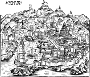 Claves territoriales de la cocina ligur. Génova renacentista