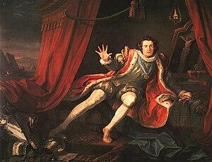Richard III, Act 5, scene 3: Richard, played b...