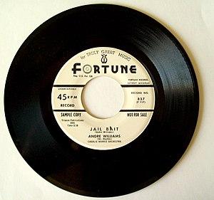 JAILBAIT Andre Williams on Fortune Records, De...