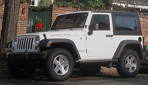 2007-2009 Jeep Wrangler photographed in Alexan...