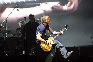 Keith Urban in concert, 2007