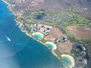 English: Aerial Photo of Ko Olina on Oahu, Hawaii