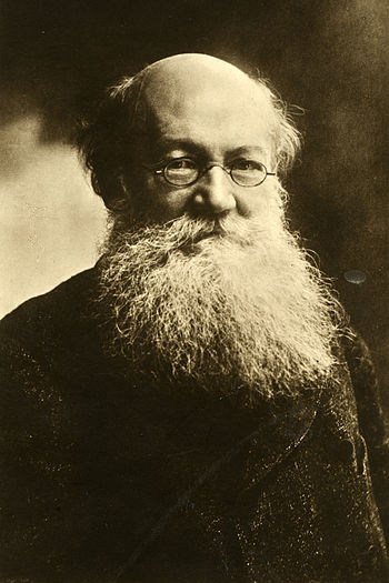 English: Peter Kropotkin, russian anarchist.