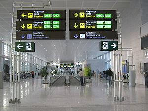English: New Termianl Malaga Airport