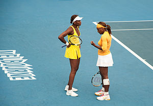 Melbourne Australian Open 2010 Venus and Seren...