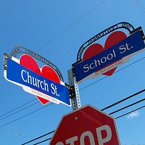 Street signs, Middleton, Nova Scotia