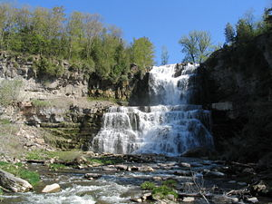 Picture I took upon visiting Chittenango Falls...