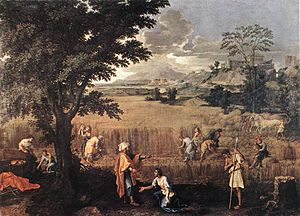Nicolas Poussin - Summer (Ruth and Boaz) - WGA...