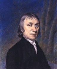 English: Portrait of Joseph Priestley. Pastel,...