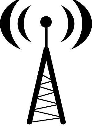 English: Radio Tower Graphic