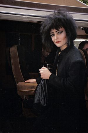 Subject: Siouxsie Sioux of Siouxsie & the Bans...