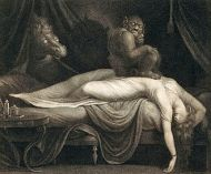 Image result for sleep paralysis painting