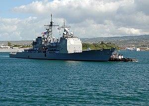 USS Lake Erie (CG-70) 2007 im Hafen Pearl Harbor