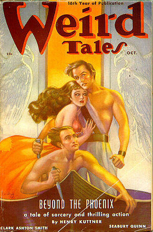 English: Cover of the pulp magazine Weird Tale...