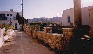 The picture illustrates the village of Antipar...