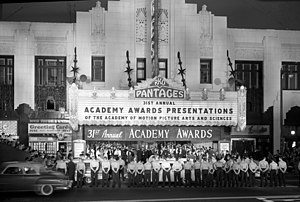 31st Academy Awards Presentations, Pantages Th...