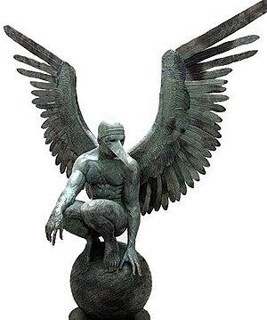 Español: Ángel Persélidas Monumental 2009 Bron...