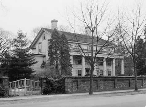 Burr Homestead in Fairfield, Connecticut, 1938