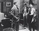 Making a Living (1914), Chaplin'in ilk filminden bir sahne
