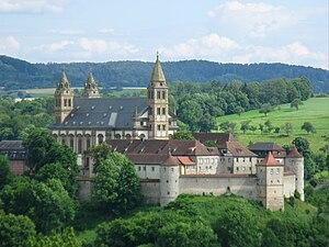 English: Comburg in Schwäbisch Hall, Germany (...