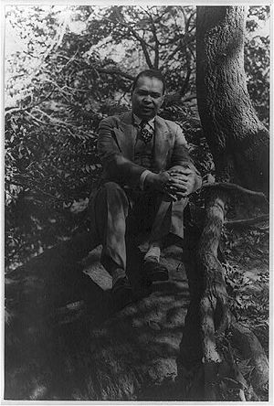Countee Cullen, photographed by Carl Van Vecht...