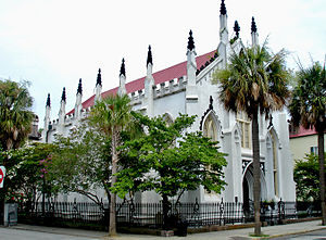 French Protestant (Huguenot) Church, downtown ...