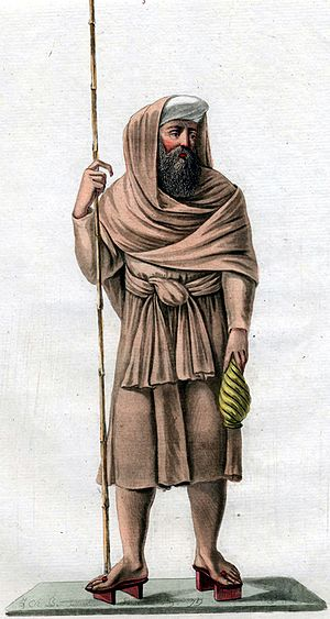 Jesuite missionary, painting from 1779.