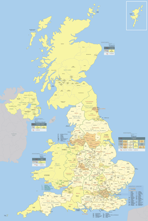 Administrative units of the United Kingdom