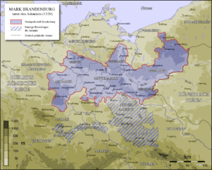Brandenburg until the extinction of the Ascani...