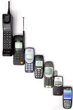 English: Mobile phone evolution ???????: ?????...