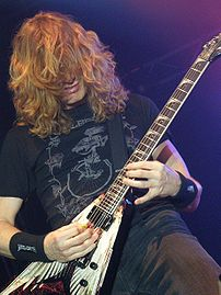 Dave Mustaine, Zlin, Czech Republic, Mar 7 2008