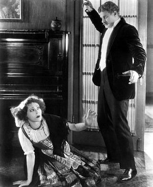 Alla Nazimova and Alan Hale, Sr. in a photo fr...