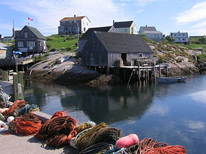 Harbour of Peggys Cove, Nova Scotia