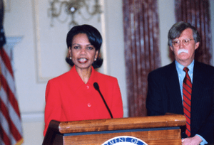 Secretary Rice announces the nomination of Joh...