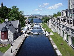 Locks in summer.