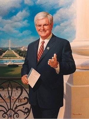 English: Former U.S. Representative and Speake...