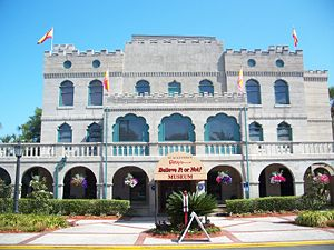 St. Augustine, Florida: Castle Warden, home of...