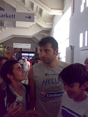 Theodoros Papaloukas, Greek basketballplayer
