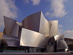 The Walt Disney Concert Hall in Los Angeles Ca...