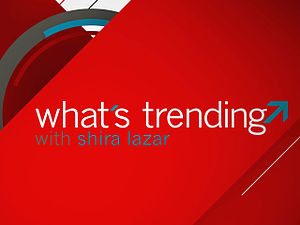 English: The Logo for the TV show What's Trending