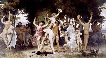 Dionysos'un gençliği, Adolphe Bouguereau