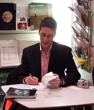Cartoonist and writer Alison Bechdel at a book...