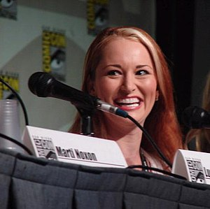 English: Allison DuBois in Comic-Con.
