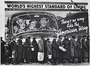 English: American Way of life